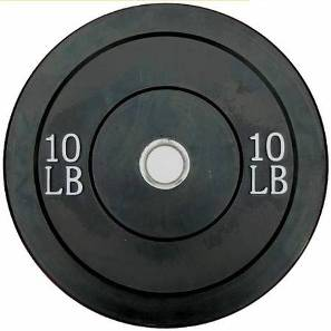 Ader Olympic Rubber Bumper Barbell Free Weight Plate Plates 10lb