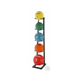 Ader 6 Tier Medicine Ball Balls Vertical Storage Rack MBR2 MBR 2