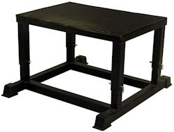Plyo Plyometric Box Boxes Stand Adjustable Jump Platform 14-20in