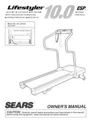 Exercise Fitness Equipment Owners User Users Manual Instructions