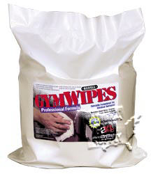 Antibacterial Gym Wipes Refill for Wall Mount Cleaning Station