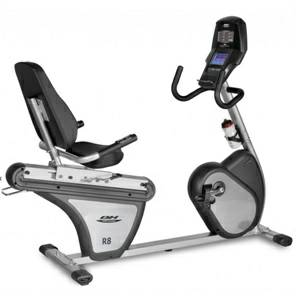 BH Fitness R8 Commercial Recumbent Exercise Bike StepThru Refurb