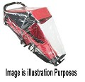 KOOLSTOP Kool Stride Single Jogger Wind Rain Canopy Cover Shield