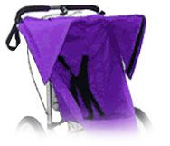 BabyJogger Baby Jogger Racing Stroller Sun Canopy Cover Single