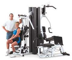 Body Solid Commercial Commercial Home Gym 2 Stack EXM3000LPS