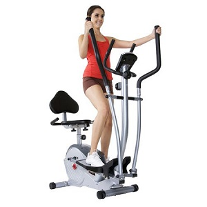 Body Flex BodyPower Trio Trainer Elliptical Upright Recumbent