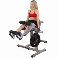 Body Solid Seated Leg Ext Extension Curl Curling Machine GCEC340