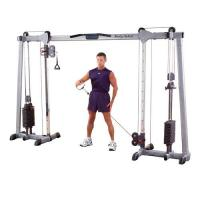 BodySolid Functional Trainer Dual Column Cable Crossover GDCC250