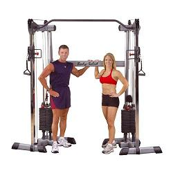 BodySolid Functional Trainer Dual Column Cable Crossover GDCC200