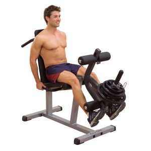 Body Solid Adjustable Seated Leg Extension Prone Curl GLCE-365