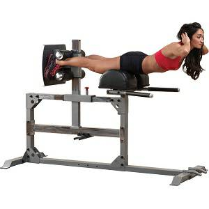 Body Solid Roman Chair GHD Glute Ham Hyperextension Back SGH500