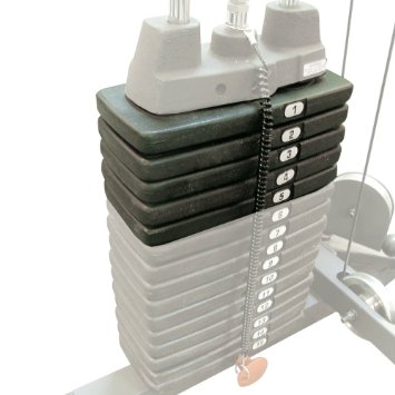 Body Solid Optional Selectorized 50# Add-On Weight Stack SP50