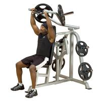 Body Solid ProClub Line Free Weight Leverage Shoulder Press LVSP