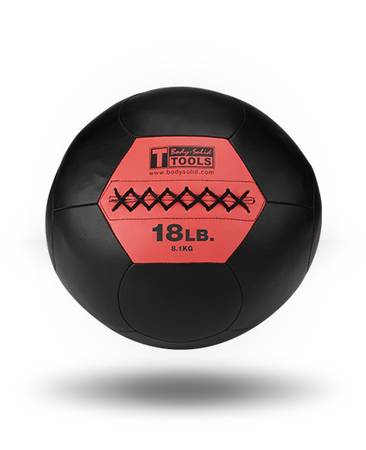 Body Solid Medicine Med Balls CrossFit Cross Fit Wall Ball 18 lb