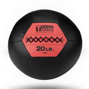 Body Solid Medicine Med Balls CrossFit Cross Fit Wall Ball 20 lb
