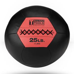 Body Solid Medicine Med Balls CrossFit Cross Fit Wall Ball 25 lb