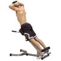 Body Solid PowerLine 45 Degree Back HyperExtension PHYP200X
