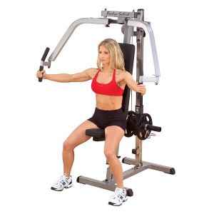 Body Solid Plate Loaded Pectoral Pec ButterFly Gym Machine GPM65