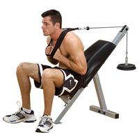 Body Solid PowerLine Leverage Ab Abdominals Crunch Bench PAB21X