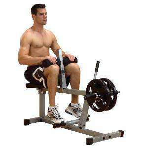 Body Solid PowerLine Seated Leg Calf Raise Calves Raises PSC43X