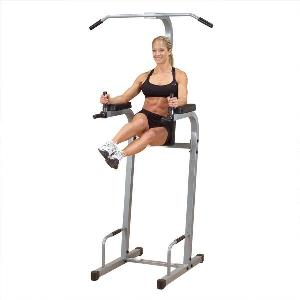 Body Solid PowerLine Vertical Knee Raise Dip Gym PVKC83