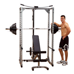 Body Solid Powerline Power Squat Rack & Lat & Bench PPR200XP Gym