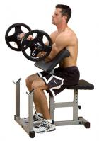 Body Solid PowerLine Preacher Curl Arm Curling Bicep Bench PPB32
