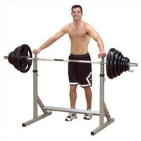 Body Solid PowerLine Free Weight Squat Squats Rack Stands PSS60X