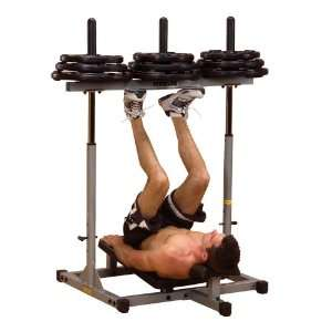 Body Solid PowerLine Inverted Squat Leg Press Calf PVLP156X