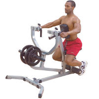 Body Solid Free Weight Seated Row Rowing Mid Back Machine GSRM40