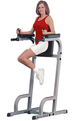Body Solid Commercial Vertical Knee Raise VKR Dip Gym GVKR60