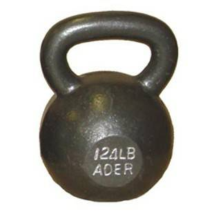 Ader Russian Monster Kettlebell Kettle Bell Kettleball 124# 56kg