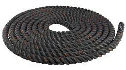 "Body Solid 1.5"" Diameter 50' Fitness Training Battling Rope BSTB"
