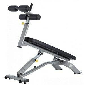 SteelFlex Ape Fitness Commercial Adjustable Abdominus Bench NAAB