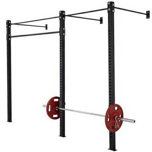 APE Wall Mount CrossFit Free Weight Gym Half Rack Rig System RG1