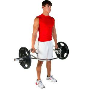 Ader Olympic Hip Trap Shrug Deadlift Hex Dual Handle Bar OHT-56