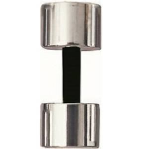 Elegant Luxury Chrome Steel Dumbbell with Foam Grip Handle  3 lb
