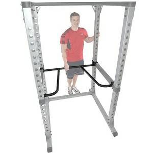 Body Solid Dip Dipping Bar Attachment for Pro Power Rack DR378