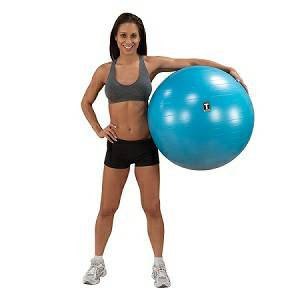 Exercise Ball Stability Stay Inflatable Fitness Core Workout 75c