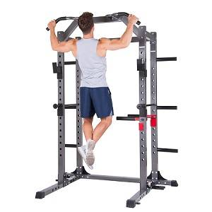 Body Power Deluxe Power Squat Rack Cage Multi Gym System PBC5380