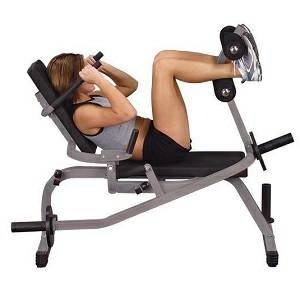Body Solid Comercial Horizontal Ab Abdominal Crunch Bench GAB100
