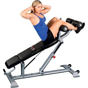 Body Solid ClubLine Commercial Ab Abdominal Crunch Bench SAB500