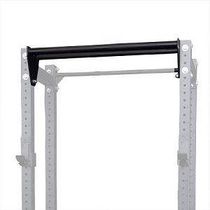 Body Solid Half Rack Dual Chin Pull Up Bar Attachment SPRDCB