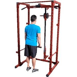 Body Solid Plate Loaded Lat Attachment for BFPR100 BFLA100 Rack