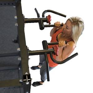Body Solid Multi-Grip Chin Pull Up Attachment for SPR1000 SR-MGC