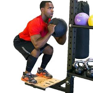 Body Solid Plyo Plyometric Step Attachment for SPR1000 SR-STEP