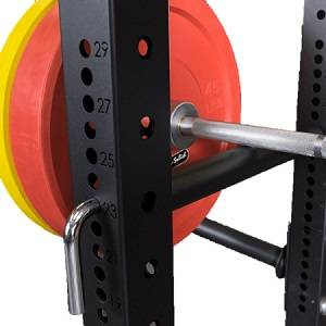 Body Solid Power Rack Half Cage Pin & Pipe Safeties Attachment