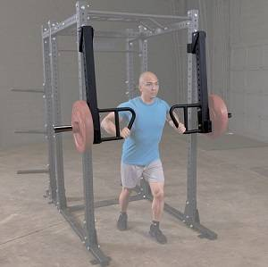 Body Solid Attachment Power Squat Rack Jammer Arms pr SPRJAM