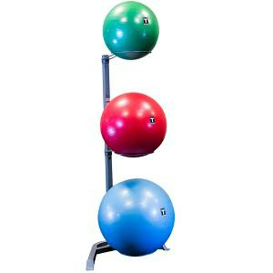 Body Solid Fitness Stability 3 Ball Vertical Storage Rack GSR10