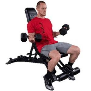 Body Solid Flat Incline Decline Pro Club Utility Bench SFID-425